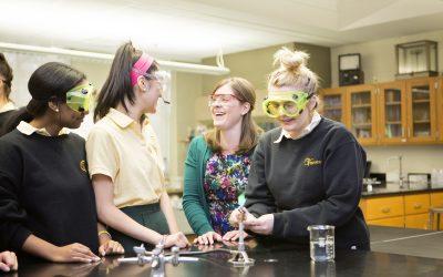 Un colegio de excelencia para chicas en Georgetown