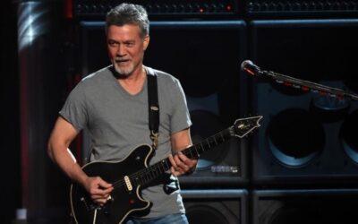 El mundo de la música pierde al guitarrista Eddie Van Halen