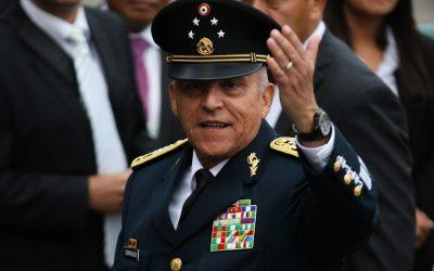 México hace pública investigación de la DEA contra General Cienfuegos