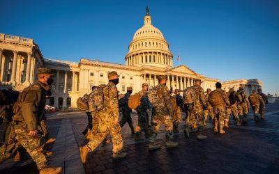 Solicitan extender presencia de la Guardia Nacional para proteger al Capitolio