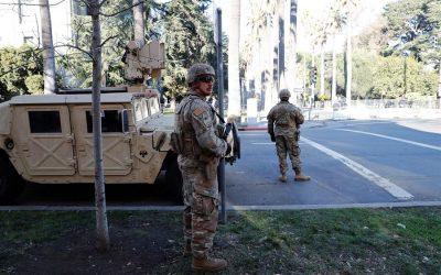 Massachusetts envía a 400 miembros de la Guardia Nacional para custodiar el Capitolio