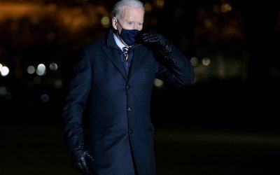 Biden realizó su primer gran viaje como presidente