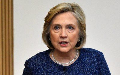 """Hillary Clinton dice que senadores que voten para absolver a Trump del impeachment serán """"co-conspiradores"""""""