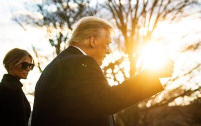 Trump se prepara para su primera aparición tras dejar la Casa Blanca