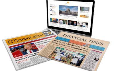 El Tiempo Latino establece nueva alianza con el Financial Times