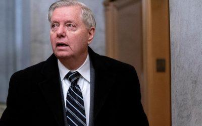 Lindsey Graham vuelve a respaldar a Trump después del asalto al Capitolio