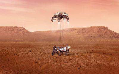 El Perseverance de la Nasa aterrizó con éxito en Marte