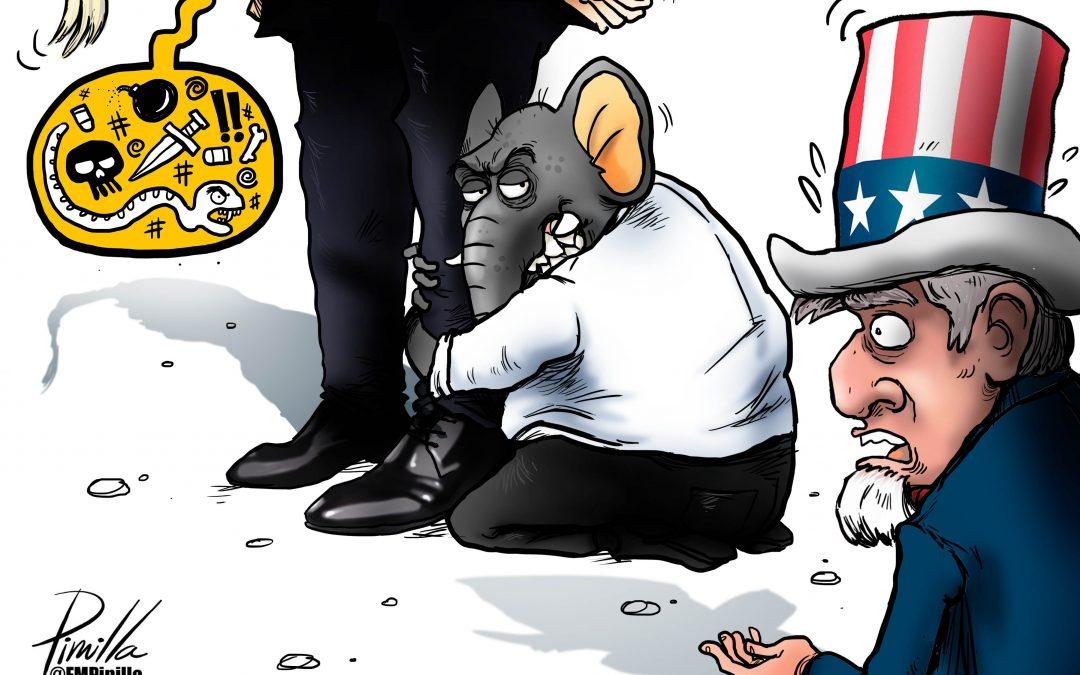 Caricatura | Republicanos y la democracia