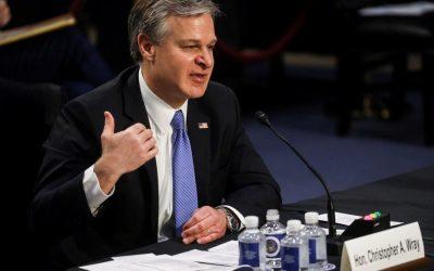Director del FBI informa sobre 2 mil casos de terrorismo domestico investigados