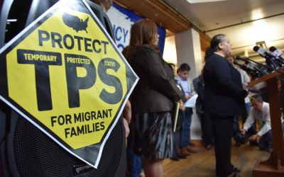 Hondureños se dirigen a la Casa Blanca para solicitar un nuevo TPS