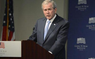 Bush recuerda el 11 de septiembre pidiendo a los estadounidenses rechazar la política del miedo
