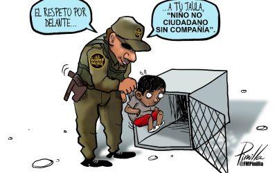 Caricatura | Neolenguaje para migrantes
