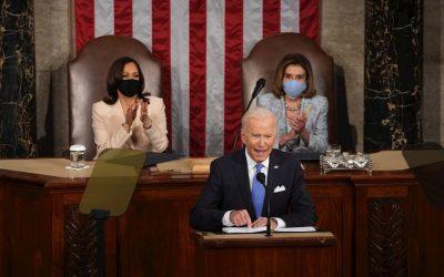 Biden ante el Congreso: «La economía creó más de 1,3 millones de empleos en 100 días»