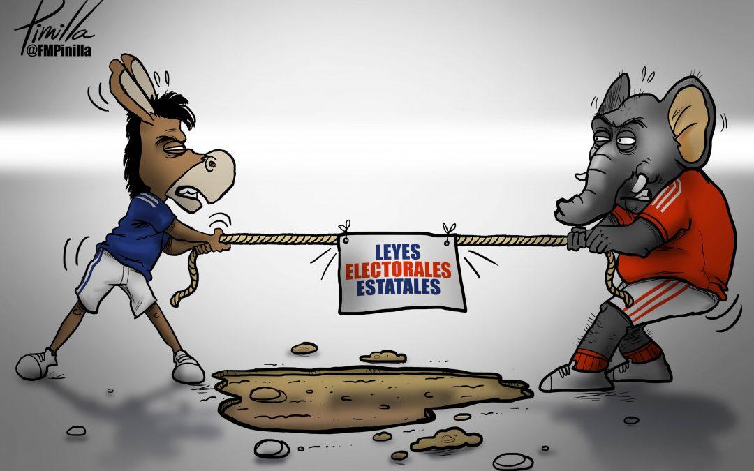 Caricatura   Leyes electorales estatales
