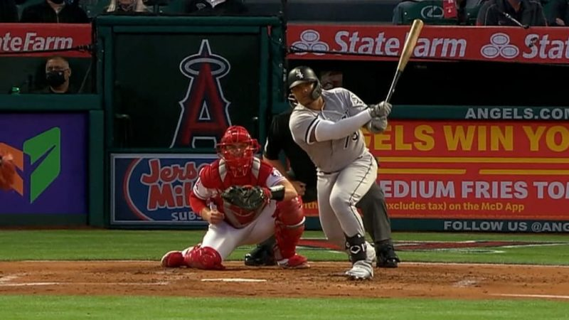 Yermin Mercedes / Captura MLB Network