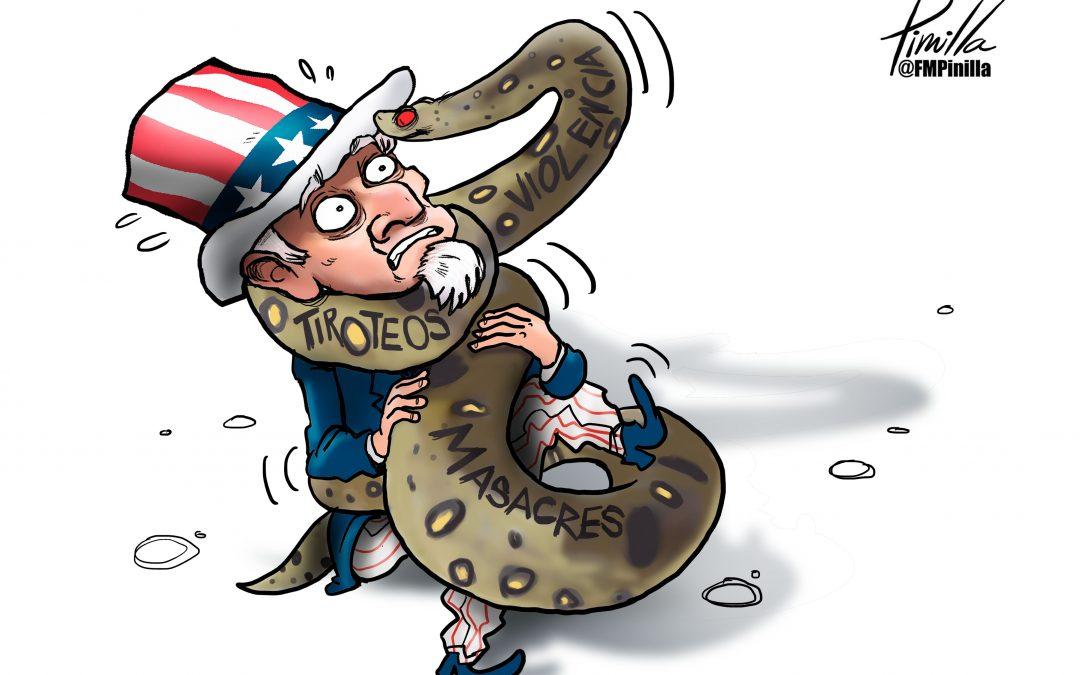 #Caricatura | Violencia