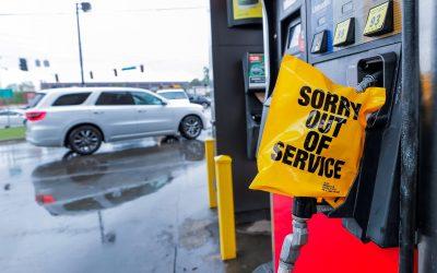 Estaciones de servicio prevén una disminución de compras nerviosas de gasolina