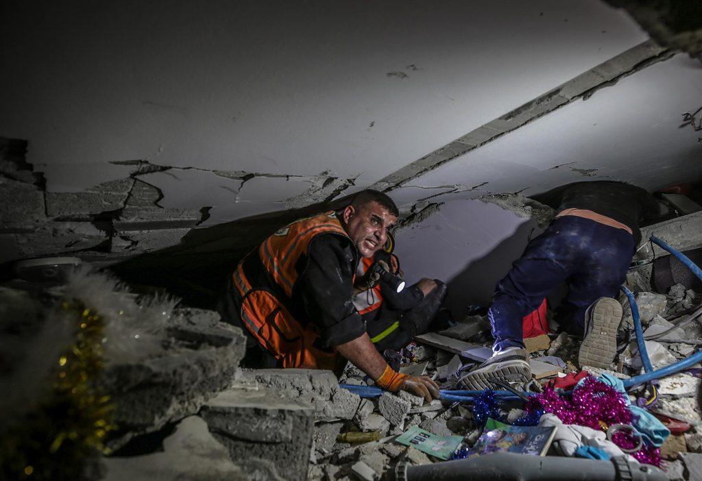 Gaza palestinos