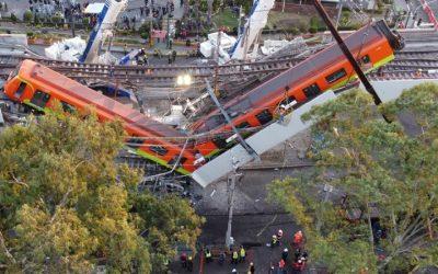 Colapso de plataforma en el metro de Ciudad de México deja al menos 24 muertos