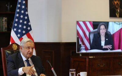 Harris y AMLO repasan retos bilaterales en medio de tensas relaciones