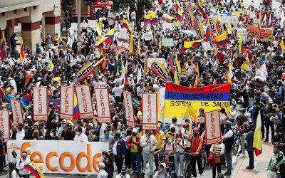 CLAVES: Lo que tienes que saber para entender las protestas en Colombia