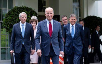 Biden anuncia acuerdo bipartidista sobre infraestructura