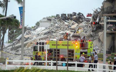 Autoridades reportan 99 personas desaparecidas tras colapsar un edificio en Miami