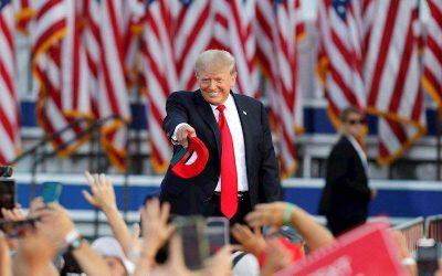 """Trump dice que es una """"pregunta fácil"""" si volverá a postularse para la presidencia"""