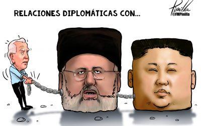 Caricatura | Irán y Corea del Norte