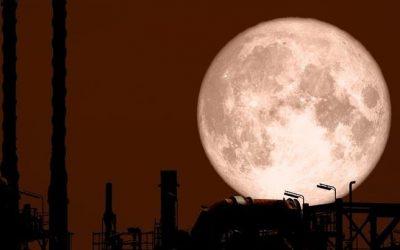 """Cómo observar la """"Strawberry Moon"""" hoy jueves"""