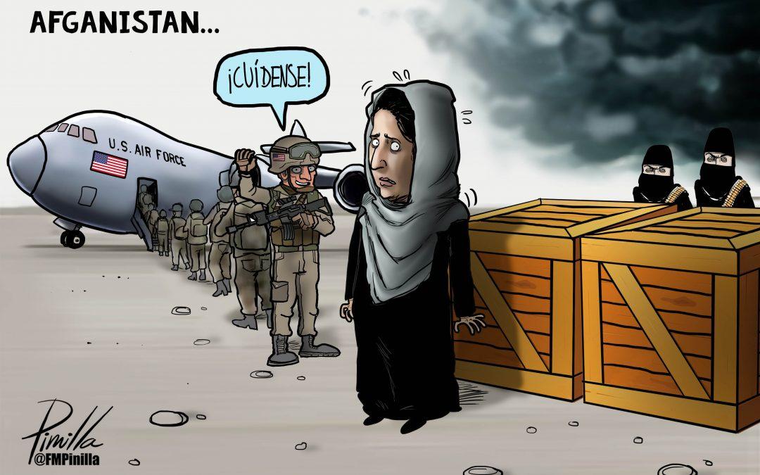 Caricatura   Afganistán