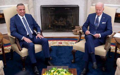 Biden busca el fin de la era post 9/11 retirando de Irak las fuerzas de combate.