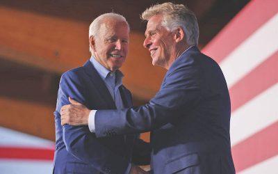 Biden regresa al ruedo electoral en Virginia
