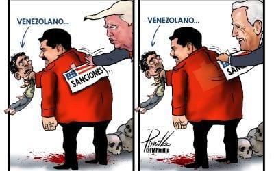 CARICATURA | Sanciones a Venezuela