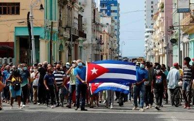 Detalles sobre las protestas que estallaron en las calles de Cuba