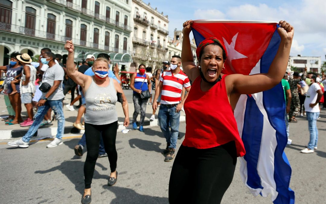 Gobierno estadounidense expresa preocupación por llamado del régimen cubano a combatir protestas