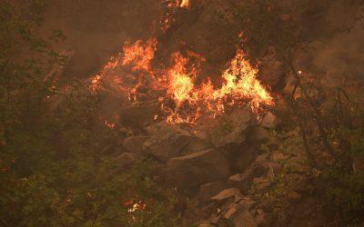 Autoridades instan a los residentes a huir de incendio Dixie en California