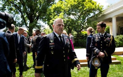 """Donald Trump arremete contra alto oficial militar de EEUU: """"Los golpes de estado no son lo mío"""""""