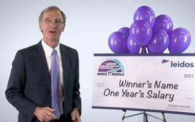 """Leidos ofrece premio de $1 millón con la campaña """"Move the Needle"""" para incentivar la vacunación de sus empleados"""