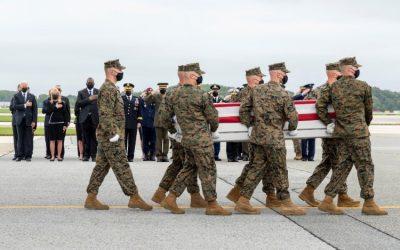 Massachusetts recibió los restos de la soldado latina que murió en Afganistán