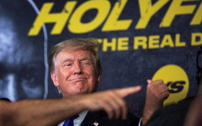 Encuesta: Biden y Trump estadísticamente empatados en valoración positiva de los votantes