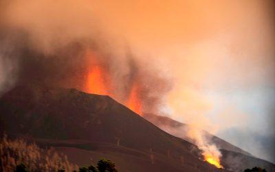 Nube de cenizas volcánicas interrumpe los vuelos hacia y desde isla española La Palma
