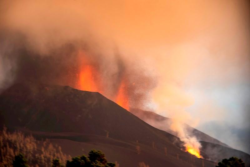 Erupción de volcán en La Palma