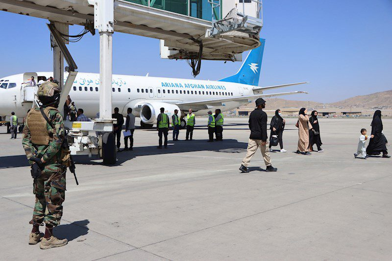 Cuarto vuelo de evacuación partió de Kabul hacia Qatar con estadounidenses a bordo