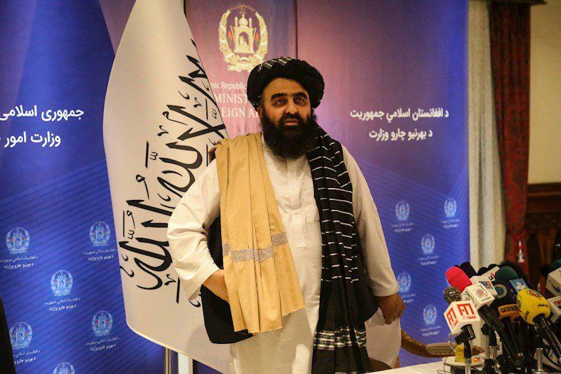 Canciller talibán Amir Khan Muttaqi