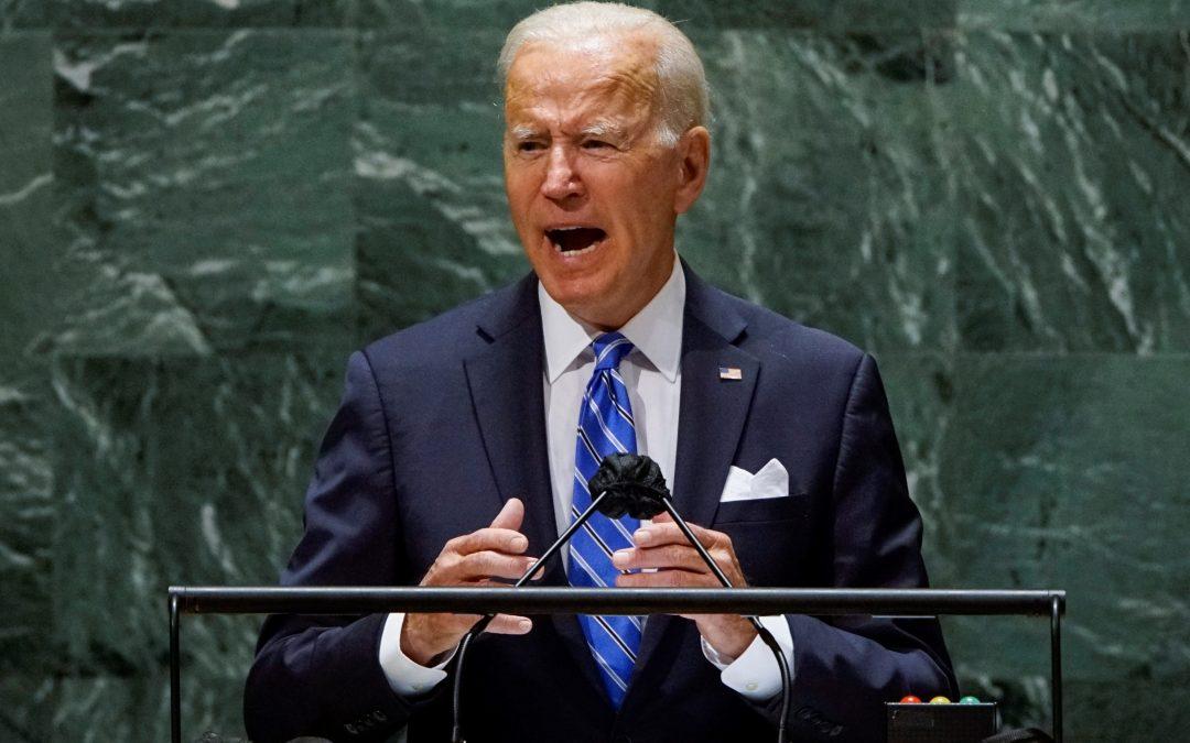 Biden pide unidad para abordar la pandemia y el cambio climático ante la ONU