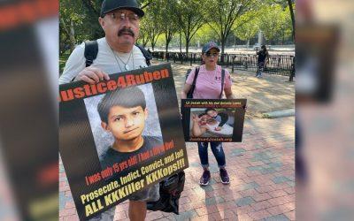 Protesta en DC: dolor y clamor tras pérdida de seres queridos a manos de la policía