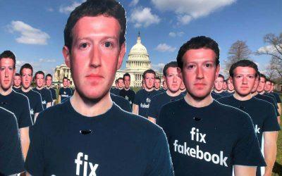 Según un estudio, la desinformación en Facebook recibió seis veces más clics que las noticias reales durante las elecciones de 2020.