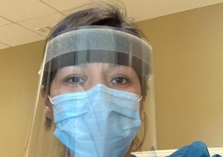 Dany Arcely Montaño, enfermera en primera línea contra la pandemia