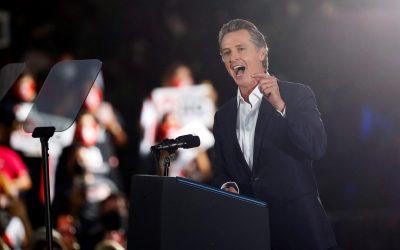California votó por mantener al gobernador Gavin Newsom en el cargo